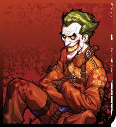 The Joker in the Asylum Spray preview