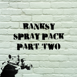 Banksy spray pack part two Spray preview