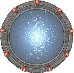 Stargate with transparency