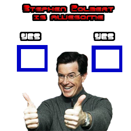 Stephen Colbert is Awesome