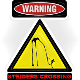 Striders Crossing Sign Spray preview