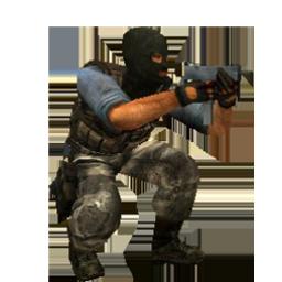 Crouch Terrorist