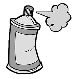 spray can png the spray can gamebanana sprays illustrated art. Black Bedroom Furniture Sets. Home Design Ideas