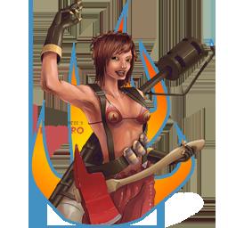 The Pyro (lady)