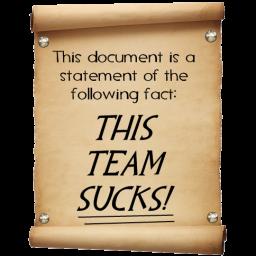 This Team Sucks!
