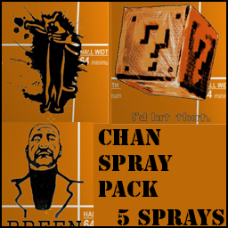 Chan Spray Pack preview