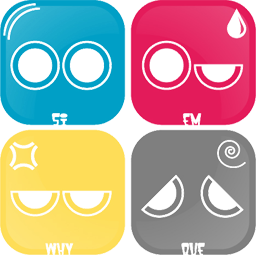 5 Emotional Faces Pack.