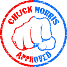 Chuck Norris Seal of Approval