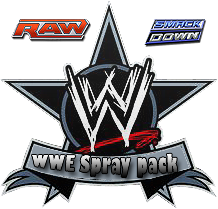 WWE  Logo Spray Pack