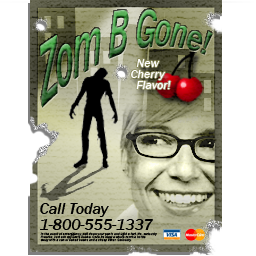 Zom B Gone poster