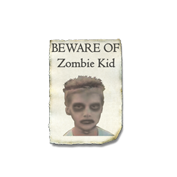 Zombie Kid Spray preview