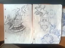 old sketches