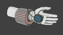 Powered glove