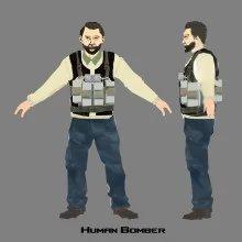 Human bomber