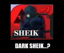 Dark Sheik...?