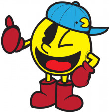 Pacman with klonoa's hat