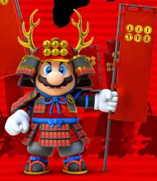 Samurai Skin for Mario