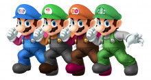 Concept for a Group of Mario Skins