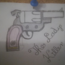 The Lady Killer revolver concept