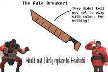 "(IDEA) ""The rule breaker"""