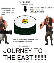 "(IDEA (JTTE)) ""The Soviet Sushi"""