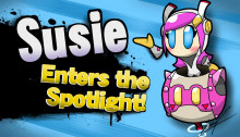 Susie (Kirby Planet Robobot) Over Bowser Jr.