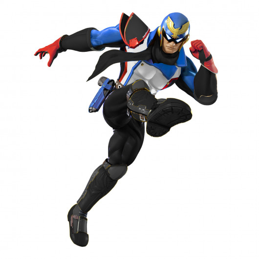 Soldier 76 inspired Captain Falcon