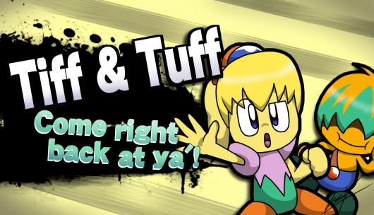 Tiff & Tuff come right back at ya'!