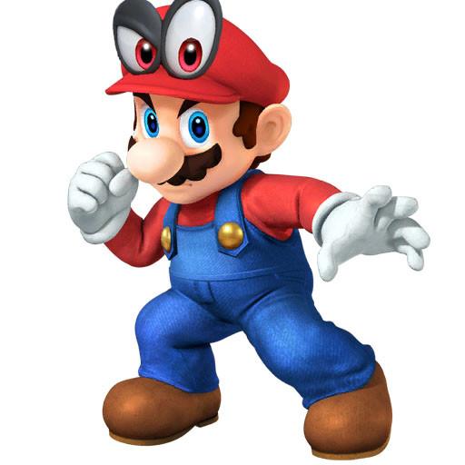 Mario & Cappy Portrait