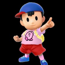Kirby themed Ness alt concept preview