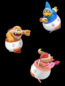Other characters over Bowser Jr preview