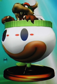 Bowser model for Bowser Jr. Concept preview