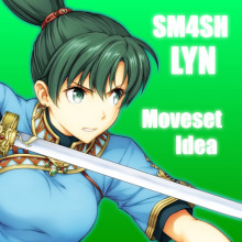 Sm4sh Moveset Idea : Lyn (Fire Emblem) preview