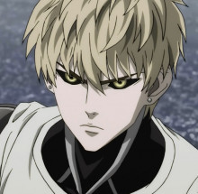 Genos from One Punch Man over Samus preview