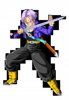 Trunks from DBZ over Cloud preview