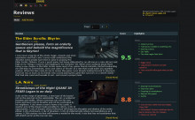 New Review section layout