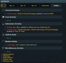 Activity Notice API
