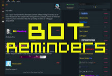 Bot Reminders for Contests