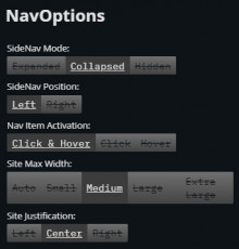 Recommended 'NavOptions' by Default