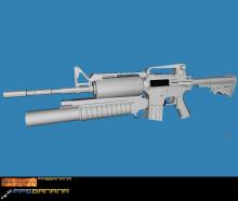 Black M16 (Fixed)