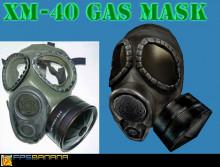 Xm 40 gasmask