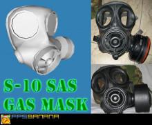 S-10 SAS gas mask