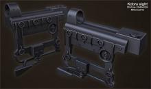 Kobra + AK side rail