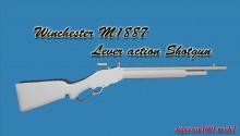 M1887 Lever Action Shotgun