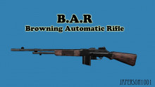 B.A.R (Browning Automatic Rifle)