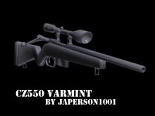 CZ550 Varmint