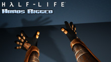 Half Life - Hands Rigged