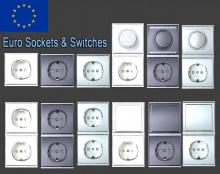 Euro Socked & Switches Modelpack