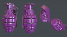 US Frag Grenade