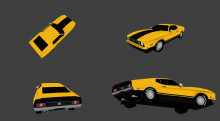 1973 Mustang mach1